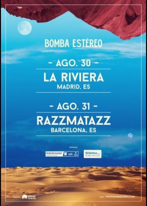 Concierto de Bomba Estéreo en Madrid