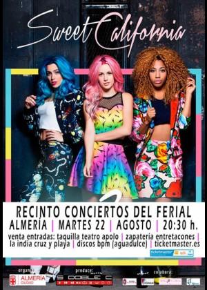 Concierto de Sweet California en Almería