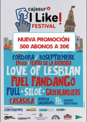 ILike Festival Cajasur