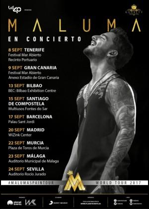 Concierto de Maluma en Bilbao