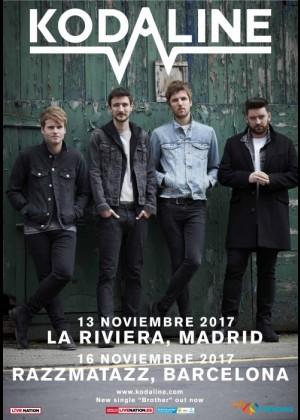 Concierto de Kodaline en Barcelona