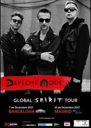 Concierto de Depeche Mode en Madrid