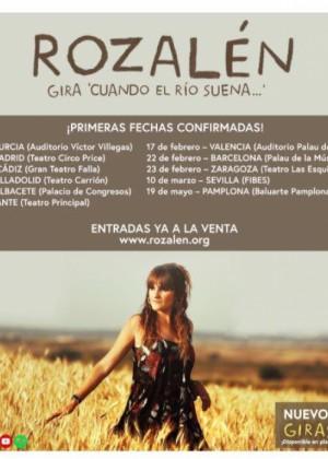 Concierto de Rozalén en La Línea de la Concepción