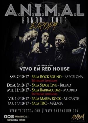 Concierto de A.N.I.M.A.L. en Alicante