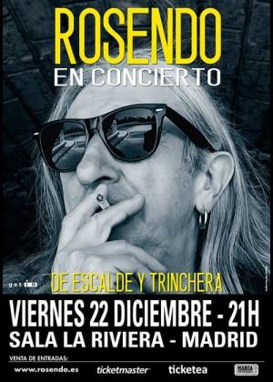 Concierto de Rosendo en Madrid