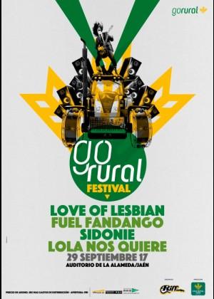 Cartel de Go Rural Festival
