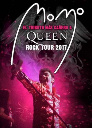 """Concierto de Momo """"The Best Tribute to Queen"""" en Madrid"""