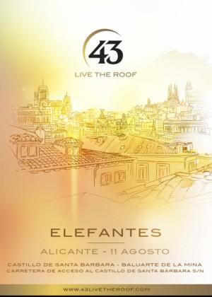 Concierto de Elefantes en Alicante