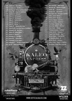 Concierto de Kaleo en Barcelona