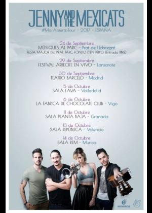 Concierto de Jenny and the Mexicats en Granada