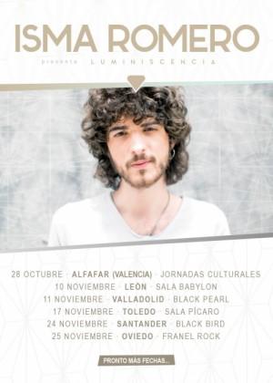 Concierto de Isma Romero en Santander