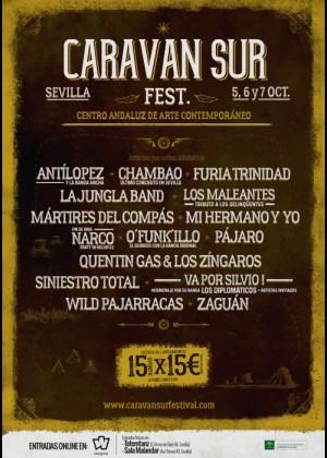 Cartel de Caravan Sur Festival