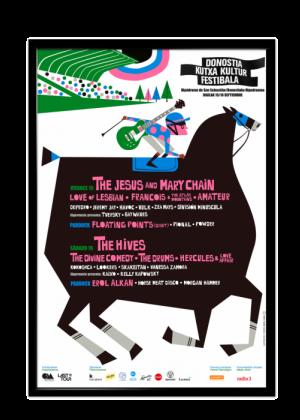 Cartel de Donostia Kutxa Kultur Festibala 2017
