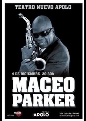 Concierto de Maceo Parker en Madrid