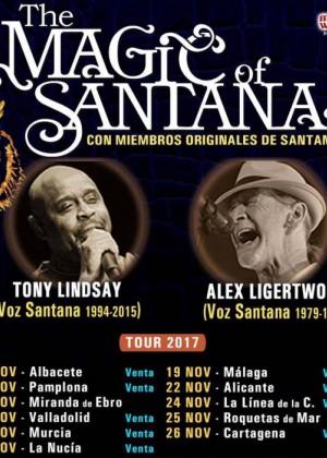 Concierto de The Magic of Santana en Roquetas de Mar