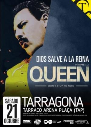 Concierto de God Save The Queen en Tarragona