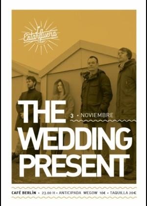 Concierto de The Wedding Present en Madrid