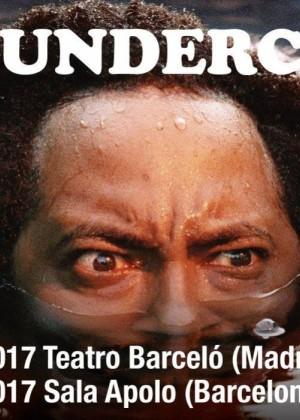Cartel en baja resolución del Concierto de Thundercat en Barcelona