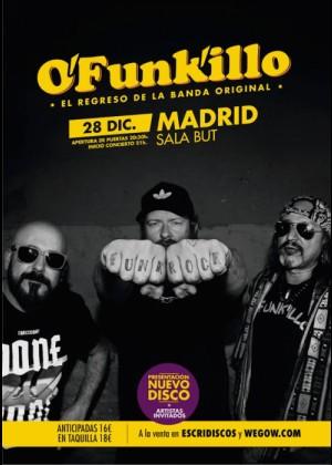 Concierto de O'funk'illo en Madrid
