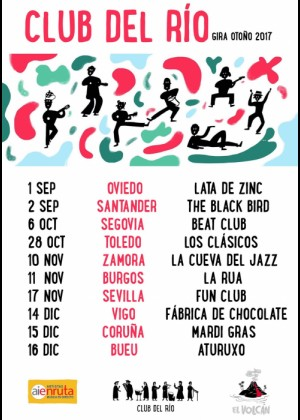 Concierto de Club del Rio en Sevilla