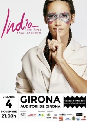 Concierto de India Martínez en Girona