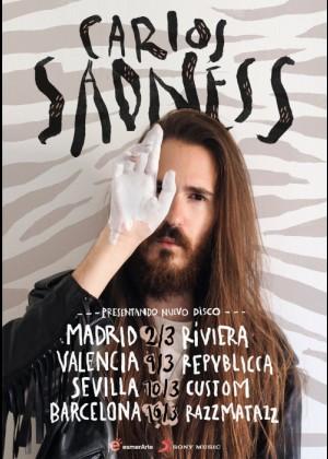 Concierto de Carlos Sadness en Barcelona