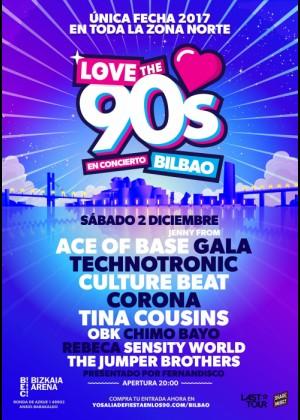 Cartel de Love The 90s en Bilbao
