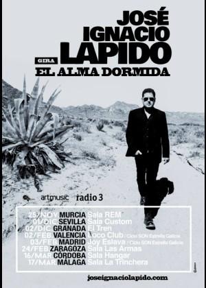 Concierto de José Ignacio Lapido en Madrid