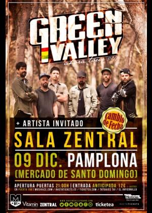 Concierto de Green Valley en Pamplona
