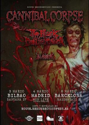 Concierto de Cannibal Corpse en Barcelona