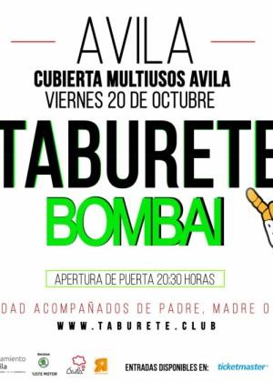 Concierto de Taburete en Ávila