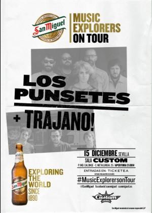 Concierto de Los Punsetes + Trajano! en Sevilla