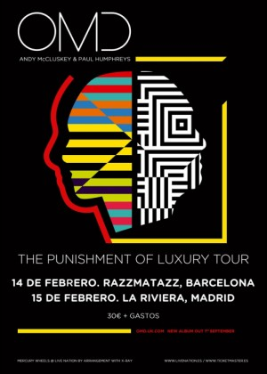 Concierto de Orchestral Manoeuvres in the Dark en Madrid