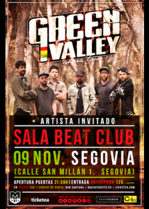 Concierto de Green Valley en Murcia
