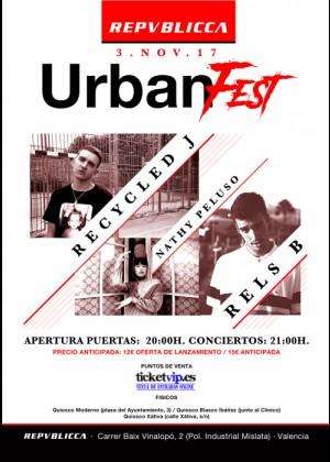 Cartel de Urban Fest 2017