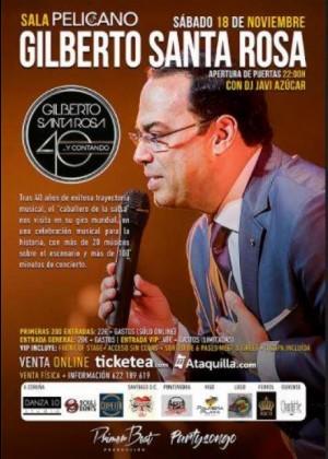 Concierto de Gilberto Santa Rosa en A Coruña