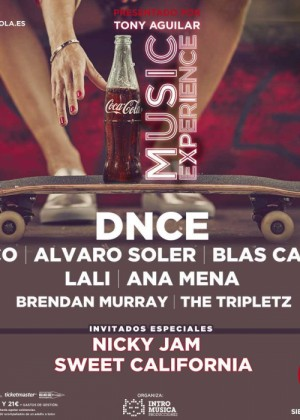 Cartel de Coca Cola Music Experience 2017