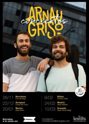 Concierto de Arnau Griso en Bilbao