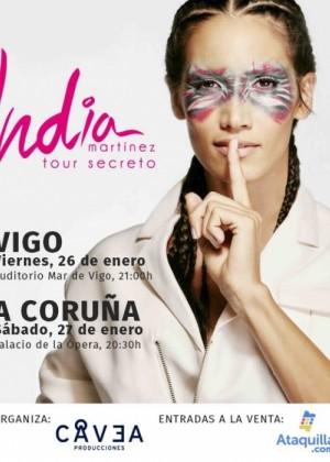 Concierto de India Martínez en A Coruña