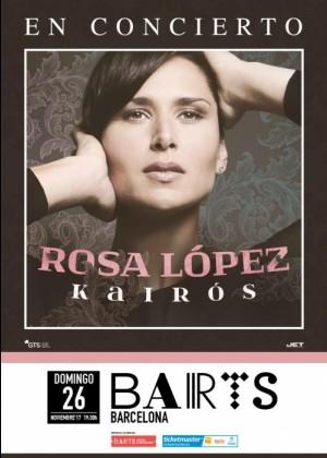 Concierto de Rosa López en Barcelona
