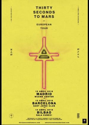 Concierto de 30 Seconds to Mars en Bilbao