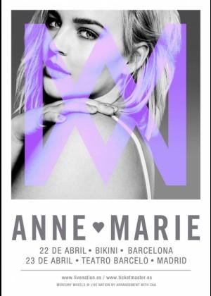Concierto de Anne-Marie en Barcelona
