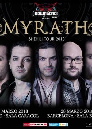 Concierto de Myrath en Barcelona
