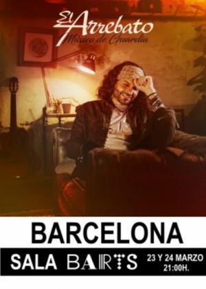 Concierto de El Arrebato en Barcelona