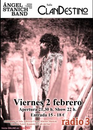Concierto de Ángel Stanich en Albacete