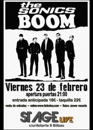 Concierto de The Sonics en Barcelona
