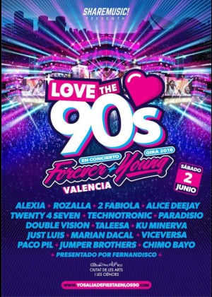Love The 90s en Valencia