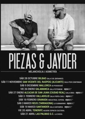 Concierto de Piezas & Jayder en Las Palmas
