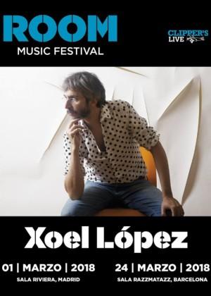 Concierto de Xoel López en Barcelona