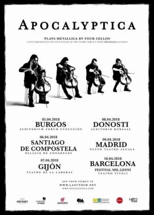Concierto de Apocalyptica en Madrid